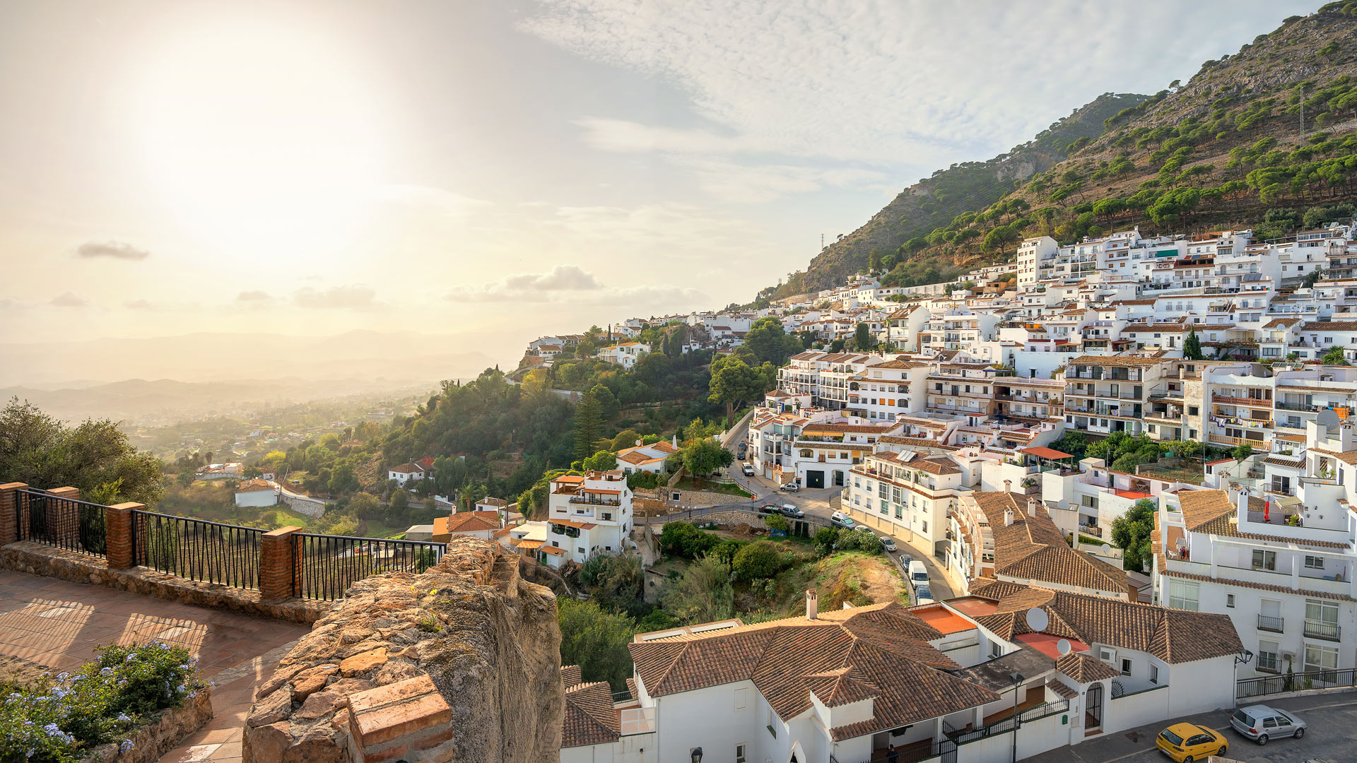 Mijas, Malaga province, the most beautiful places